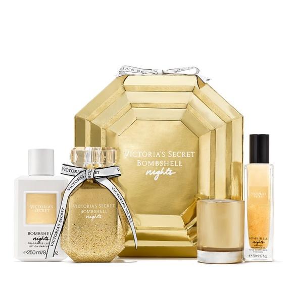 b84830823d8 Victoria s Secret Bombshell Nights Parfum Set NEW
